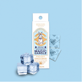 [Magic Gargle] Solid Chewing Gargle _ 18 ICE COOL Flavors [Individually Packaged] _ Made in KOREA