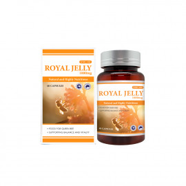 [SINICARE] Royal Jelly 1000mg 40Capsules /fatigue recovery