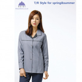 [Heidi] TB-220 women's tops, work clothes, work clothes, cleaning clothes, uniforms