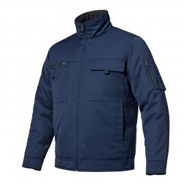 [Heidi] ZB-J1959 Gaberdine Fabric Jacket NAVY Winter Shopper_ Luxury Workwear, Office Wear, Workwear, Group Wear