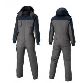 [Heidi] SJ-6 gray/ color, winter suzuki, hoody detachable, waist zipper _ maintenance clothes, group clothes, work clothes