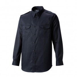 [Heidi] K-07 black guard suit shirt (top)_ General type work clothes, office clothes, work clothes, group clothes