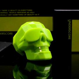 [UNDERSCORE] Neon Skull Vehicle Air Freshener _ Made in KOREA