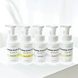 [ALLE]  hand cleaning agent, hand washing soap, foaming hand wash_250ml _ Made in KOREA
