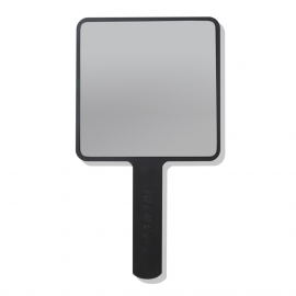[ItColor]Hand mirrors with handles for unique users (Square Black, White)