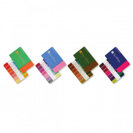 [Itcolor] Seasonal Color swatch Palette Guide Card -by itcolor(English, Korean, Chinese)