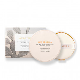 [VELLA] LUZ DE VELLA ALL DAY WATER FIT CUSHION NATURAL COVER 8g + Refill _ Makeup, Moist Cushion_ Made in KOREA