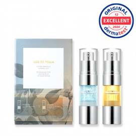 [VELLA] LUZ DE VELLA FUSION AMPOULE SYNERGY SET (Hyaluron, Vitamin) _ Daily Ampoule, Skin Soothing_ Made in KOREA