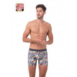 [69SLAM] (Limited Edition) Men's Tropical Glam Fit Boxer, Men's underwear