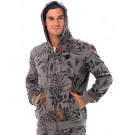 [69SLAM] Men's Wild Garden Teehu Sweat Jacket 10% OFF, Hood Zip-Up,