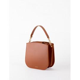 [Floribus] OLENTIA Brown _ Bag, Women bags, Cross-Bag, Handbag, Mini-Bag, shoulder-bag, tulip bag_ Made in KOREA