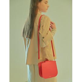 [Floribus] OLENTIA Red _ Bag, Women bags, Cross-Bag, Handbag, Purse, Mini-Bag, Shoulder-bag_ Made in KOREA