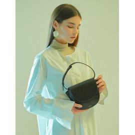[Floribus] BULLA Black _Handbag, Purse, Mini-Bag, Tote bag, Women`s bags_ Made in KOREA