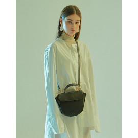 [Floribus] TEGO Black _ Women's bag, Cross-Bag, Shoulder bag, Handbag, Mini-Bag, Natural Cowhide_ Made in KOREA
