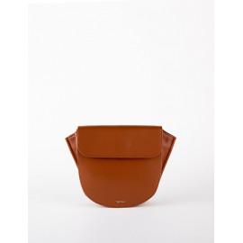 [Floribus] TEGO Brown _ Handbag, Mini-Bag, Women's bag, Cross-Bag, Shoulder bag, Natural Cowhide_ Made in KOREA