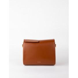 [Floribus] CAPUT Brown _ Women`s bags, Handbag, Purse, Mini-Bag, Shoulder bag, Natural Cowhide_ Made in KOREA