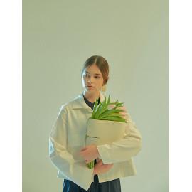 [Floribus] CAPUT White _ Women`s bags, Handbag, Purse, Mini-Bag, Shoulder bag, Natural Cowhide_ Made in KOREA