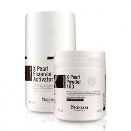 [skindom] X-pearl A set (powder + essence) - whitening, skin improvement