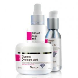 [Skindom] 3 Sets of Diamonds (Mist + Peeling gel + Mask) - Whitening, Peeling gel_ Made in KOREA
