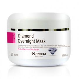 [skindom] Diamond Overnight Mask (100ml) - Whitening_ Made in KOREA