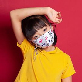 [NICEKOREA] Jurasil KIDS 3D mask, Animal Pattern _ Anti-bacterial 99.9% UV Blocking, Kids Mask, Washable Fabric mask _ Made in KOREA