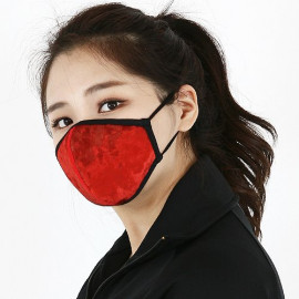 [NICEKOREA] Jurasil Velvet Fashion Mask_Anti-bacterial 99.9% Fashion Mask, Celebrity Mask_ Made in KOREA
