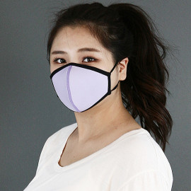 [NICEKOREA] Jurasil Fashion Mask, Line _ Anti-bacterial 99.9%, Celebrity Mask, Washable Fabric mask _ Made in KOREA
