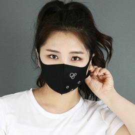 [NICEKOREA] Jurasil Fashion Mask, Water Drop Cubic _ Anti-bacterial 99.9%, Celebrity Mask, Washable Fabric mask _ Made in KOREA