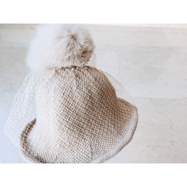 [La Clarte Atelier] knit floppy hat _ Baby clothes, children's clothes, baby dresses, kids dress, accessory _ Made in KOREA
