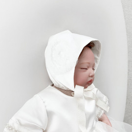 [La Clarte Atelier]bebe royal bonnet (125) _ baby hat, Baby clothes, children's clothes, baby dresses, kids dress, _ Made in KOREA
