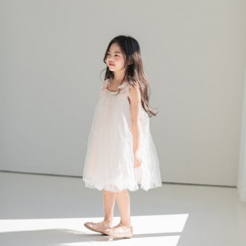 [La Clarte Atelier] shoulder corsage _ children's clothes, baby dresses,girl's dress,  kids dress, Made in KOREA