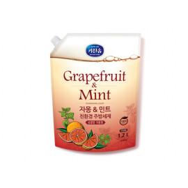 [MUKUNGHWA] KICHENSOAP Grapefruit n Mint Dishwashing Liquid 1.2L_ Kitchen Detergents, Dishwashing Detergents, Eco-friendly