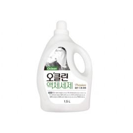 [MUKUNGHWA] O'Clean Premium Liquid Laundry Detergent 1.5L _ Laundry Detergents, Liquid Detergents, For Washing Machine
