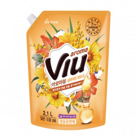 [MUKUNGHWA] Aroma VIU Fabric Softener Delight Mimosa 2.1L Refill _ Laundry Detergents, Fabric conditioner,   Antibacterial Care
