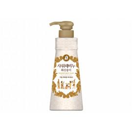 [MUKUNGHWA] Shower'n Scrub Volcanic Charcoal with Musk Perfume 900ml _ Liquid Soap, Body Soap, Hypoallergenic Scrub