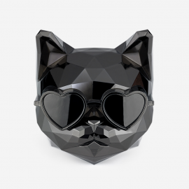 [SCENTMONSTER] Killer Cat – Black Diamond _Premium Car air freshener, Real Metal Body, 100% Harmless Natural Fragrance _ Made in KOREA