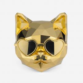 [SCENTMONSTER] Killer Cat – Pure Gold _Premium Car air freshener, Real Metal Body, 100% Harmless Natural Fragrance _ Made in KOREA