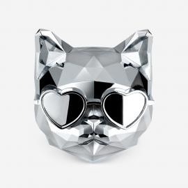 [SCENTMONSTER] Killer Cat – Silver Lining _Premium Car air freshener, Refillable replaceable, 100% Harmless Natural Fragrance _ Made in KOREA