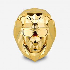 [SCENTMONSTER] Lonely Lion – Pure Gold _Premium Car air freshener, Real Metal Body, 100% Harmless Natural Fragrance _ Made in KOREA