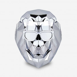 [SCENTMONSTER] Lonely Lion – Silver Lining _Premium Car air freshener, Real Metal Body, 100% Harmless Natural Fragrance _ Made in KOREA