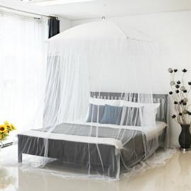 [Gallery Deco] Euraffian Style Canopy Mosquito Net Modern Luxury Frills