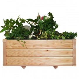 [Gallery Deco] Moving DIY wooden pot, wide large plants, 3 level, indoor garden, made in Korea