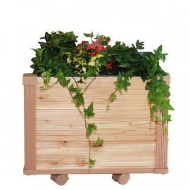 [Gallery Deco] Moving DIY wooden pot, plants medium, 3 level, indoor garden, made in Korea