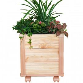 [Gallery Deco] Moving DIY wooden pot, plants small, 3 level, indoor garden, made in Korea