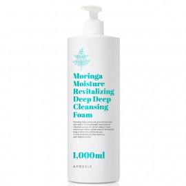 [AYODEL] Moringa Moisture Revitalizing Deep Deep Cleansing Foam _ 1000ml _ Made in KOREA