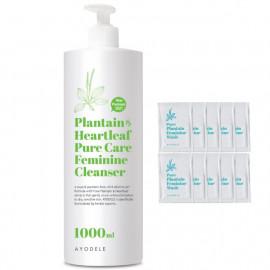 [AYODEL] Plantain and Heart-leaf Pure Care Feminine Cleanser _ 1000ml, Sensitive Skin _ Made in KOREA