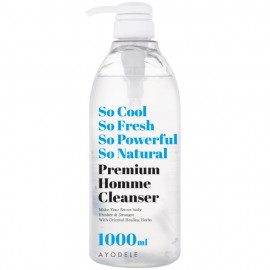 [AYODEL] So Cool So Fresh Premium Homme Cleanser _ 1000ml, Men's Cleanser, 7 Herbal Ingredients, Smegma Clean _ Made in KOREA