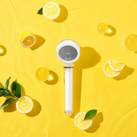 [VITASPA] The Vita Ball Shower Head_Vitamin Filter for skin care - Hard Water Softener - Chlorine & Flouride Filter - Universal Shower System - Helps Dry Skin & Hair Loss _ Made in KOREA
