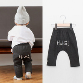[BABYBLEE] D17307_Hola Baggy Pants for Kids, Baby, Cotton 100%, Made In Korea
