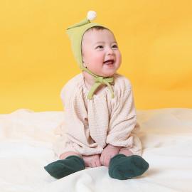 [BABYBLEE] A17106_Mesh Ball Bonnet for Infants, Baby, Cotton 100%, Made in KOREA